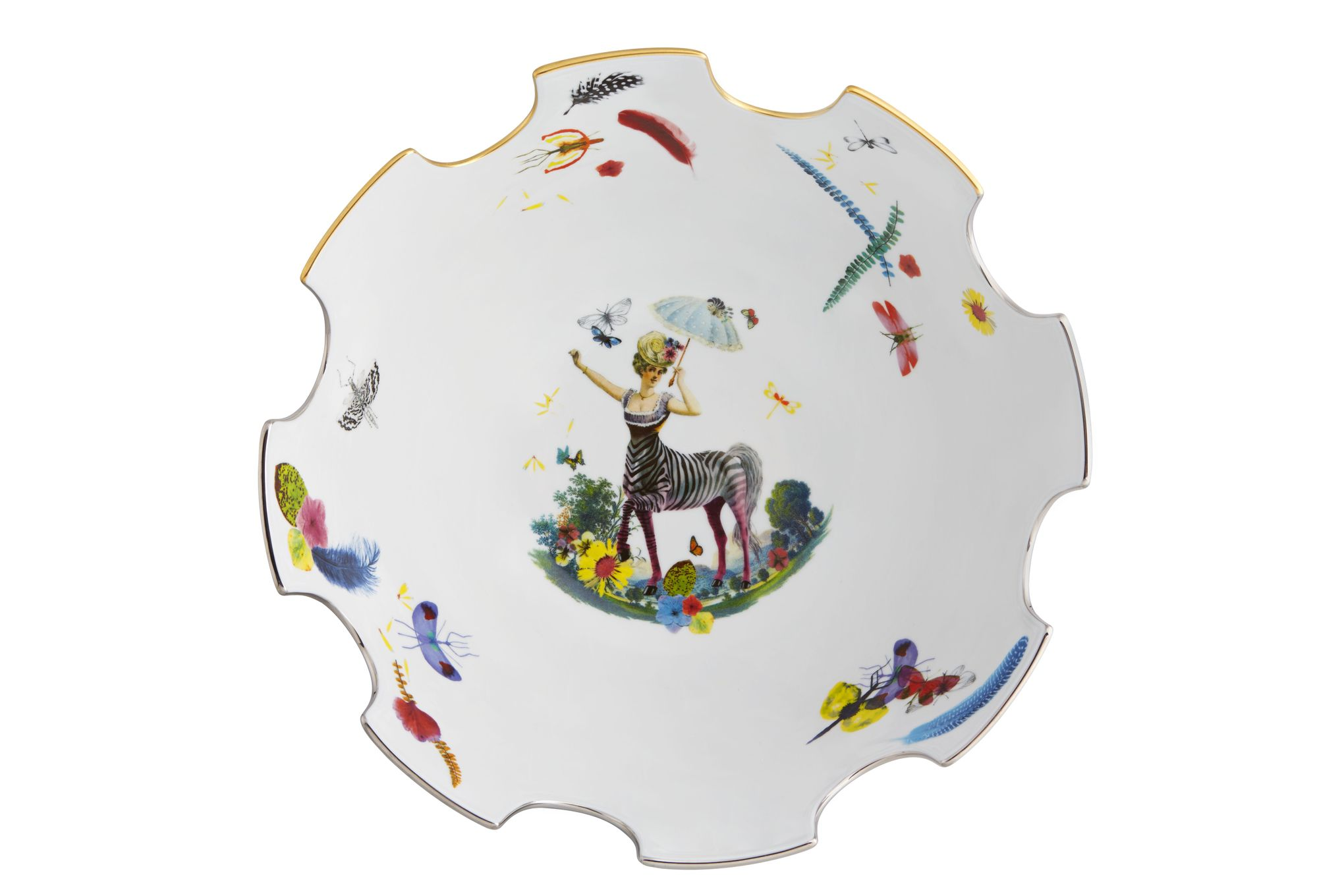 Christian Lacroix Caribe Serving Bowl Gift Boxed 32.1 x 16.5cm thumb 2