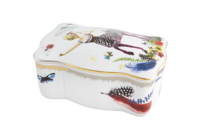 Christian Lacroix Caribe Box Zebra Girl 15.1 x 9.1cm