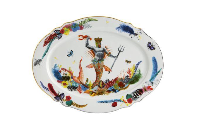 Christian Lacroix Caribe Oval Platter 36.7 x 27.3cm