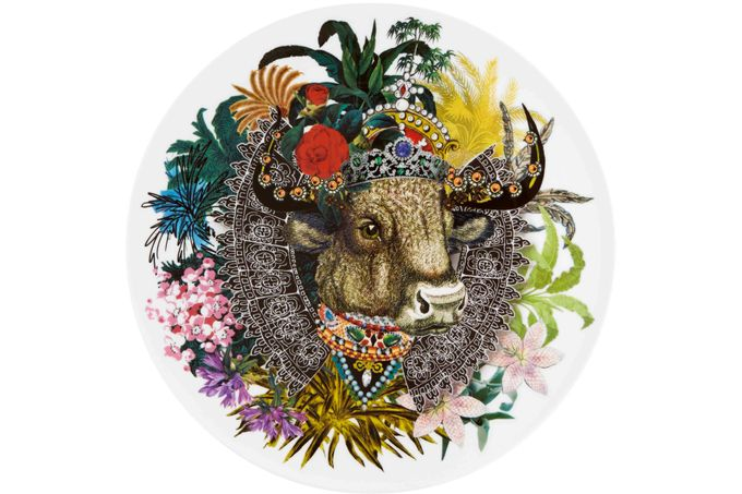 Christian Lacroix Love Who You Want Charger Monseigneur Bull - Gift Boxed