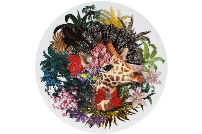 Christian Lacroix Love Who You Want Charger Doña Jirafa - Gift Boxed 33.1cm