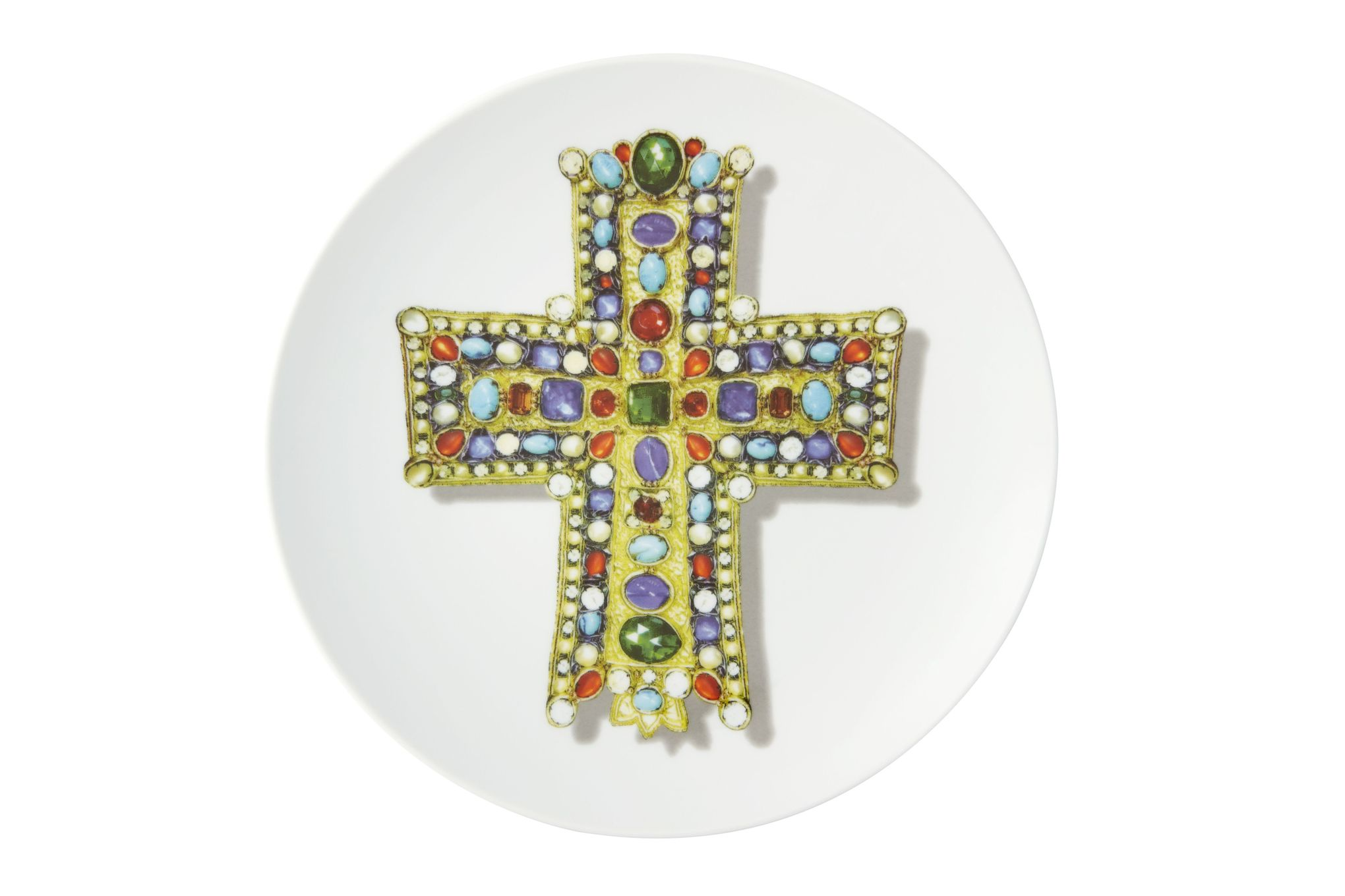 Christian Lacroix Love Who You Want Plate - Giftware Lacroix Lacroix - Gift Boxed 23cm thumb 1