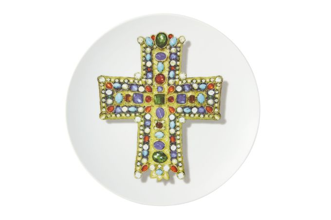 Christian Lacroix Love Who You Want Plate - Giftware Lacroix Lacroix - Gift Boxed 23cm