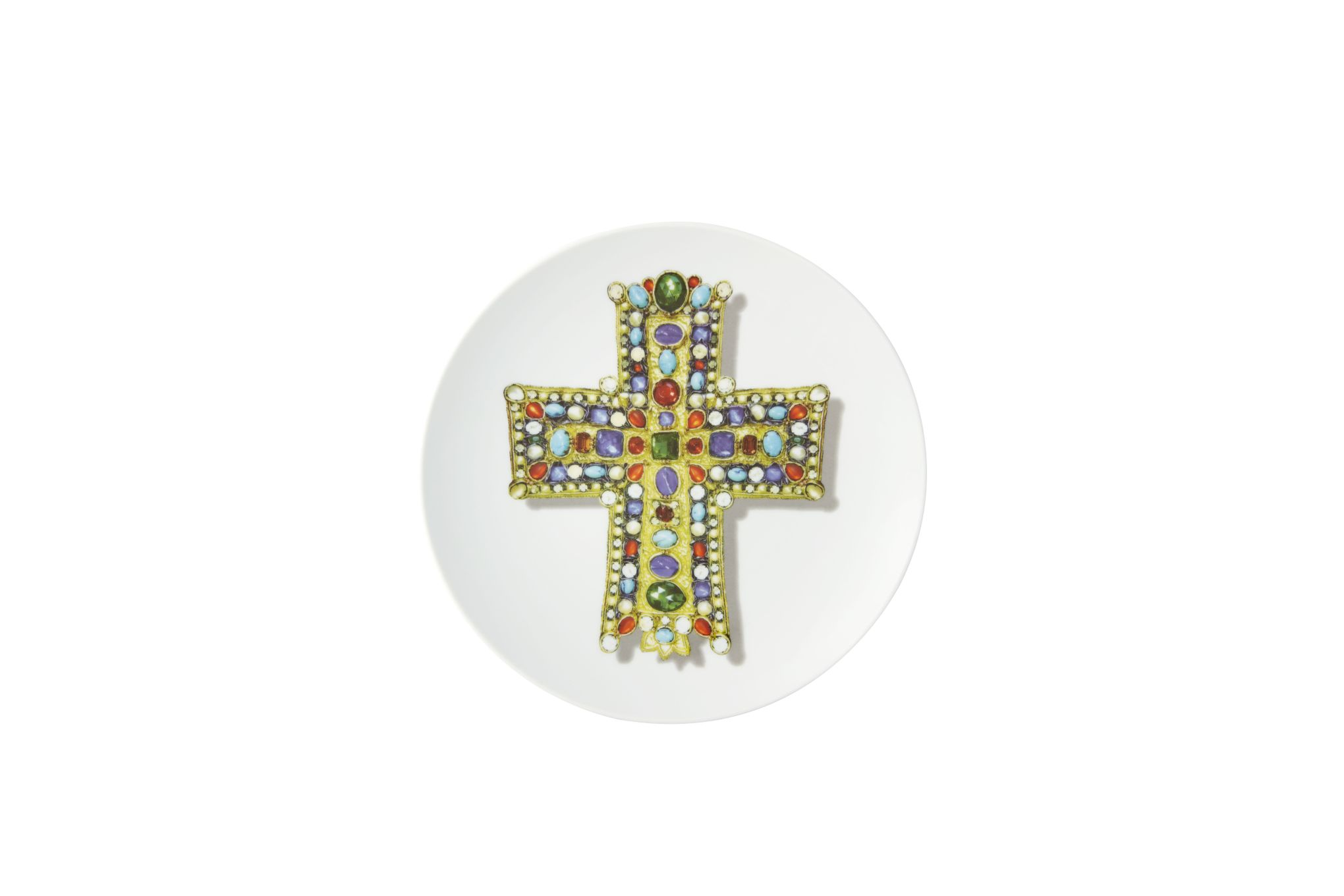 Christian Lacroix Love Who You Want Plate - Giftware Lacroix Lacroix - Gift Boxed 23cm thumb 2