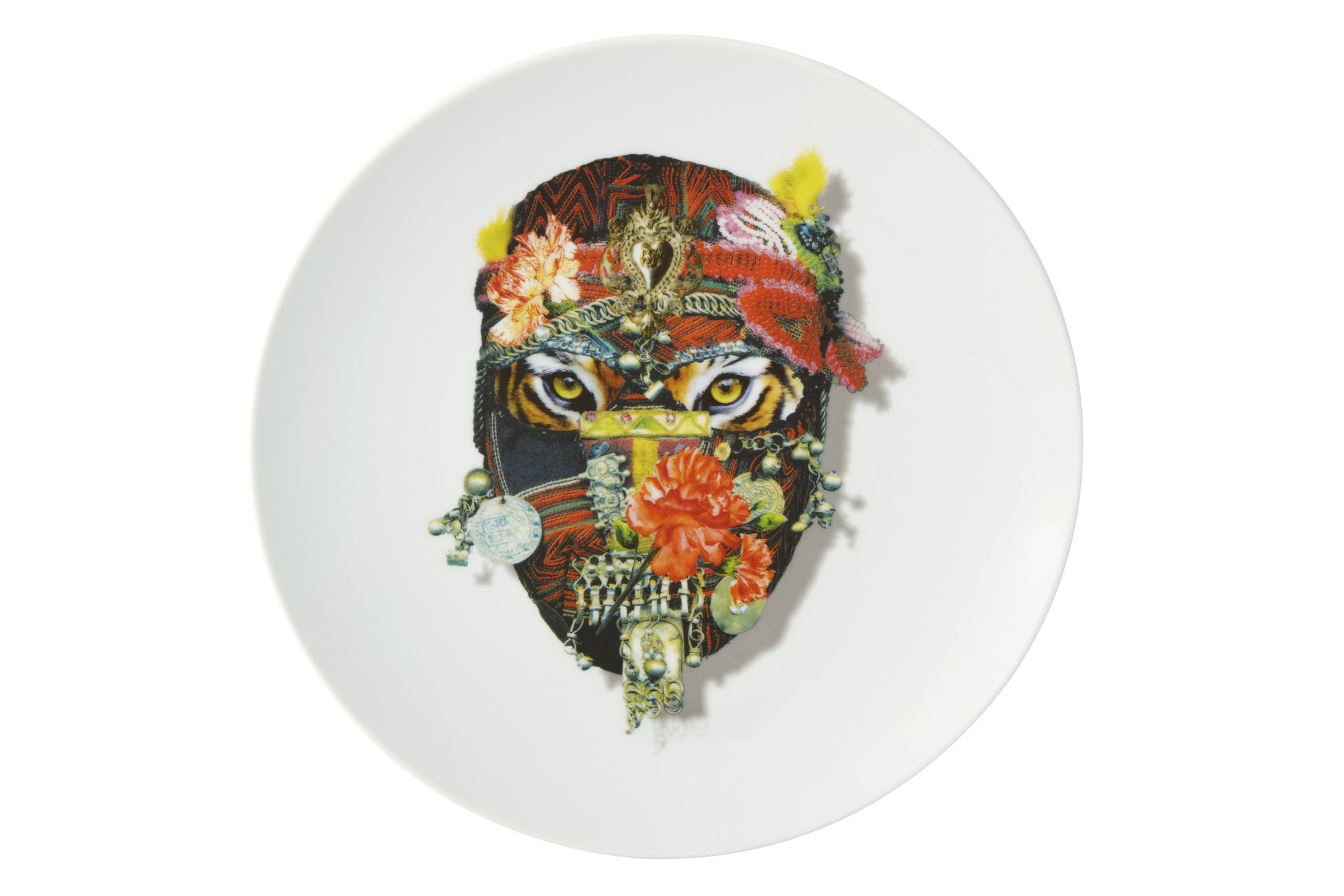 Christian Lacroix Love Who You Want Plate - Giftware Mister Tiger - Gift Boxed 23cm thumb 1