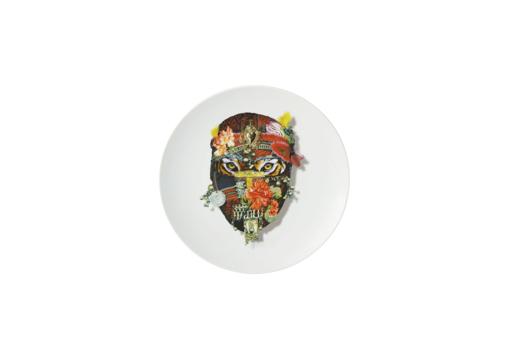 Christian Lacroix Love Who You Want Plate - Giftware Mister Tiger - Gift Boxed 23cm thumb 2
