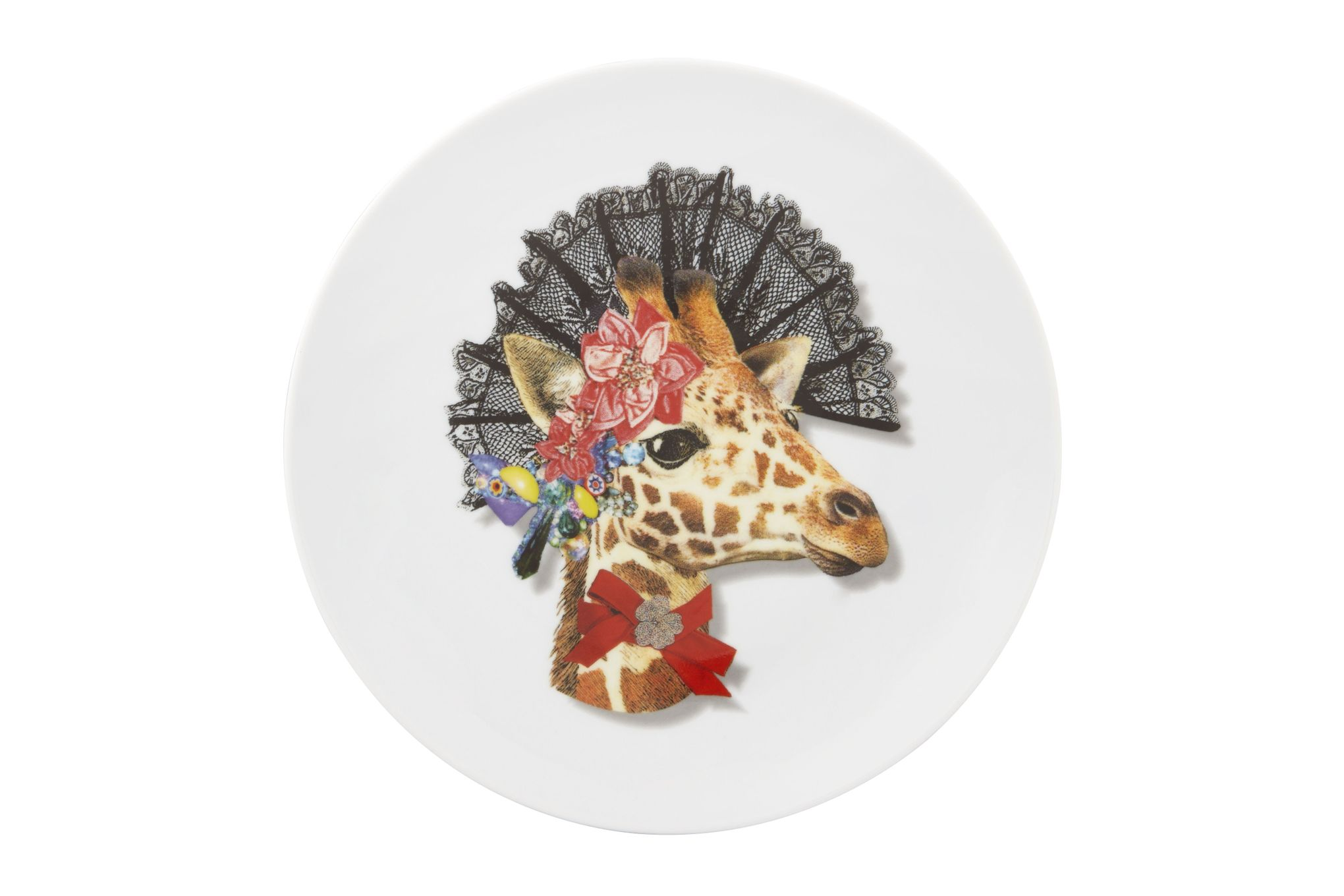 Christian Lacroix Love Who You Want Plate - Giftware Doña Jirafa - Gift Boxed 23cm thumb 1