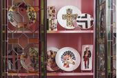 Christian Lacroix Love Who You Want Plate - Giftware Mamzelle Scarlet - Gift Boxed 23cm thumb 3