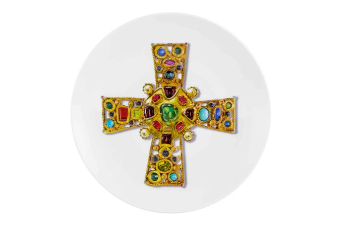 Christian Lacroix Love Who You Want Plate - Giftware Byzantine 23cm