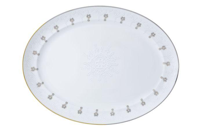 Christian Lacroix Paseo Oval Plate / Platter 41.7 x 32cm