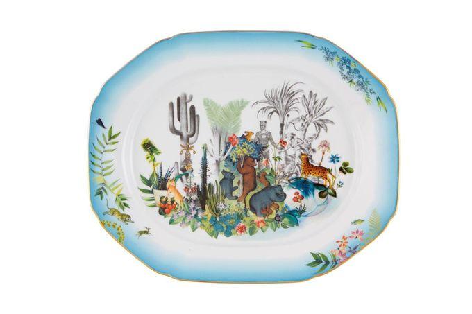 Christian Lacroix Reveries Oblong Plate / Platter 37.9 x 30.5cm