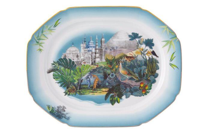 Christian Lacroix Reveries Oblong Plate / Platter 36 x 28cm
