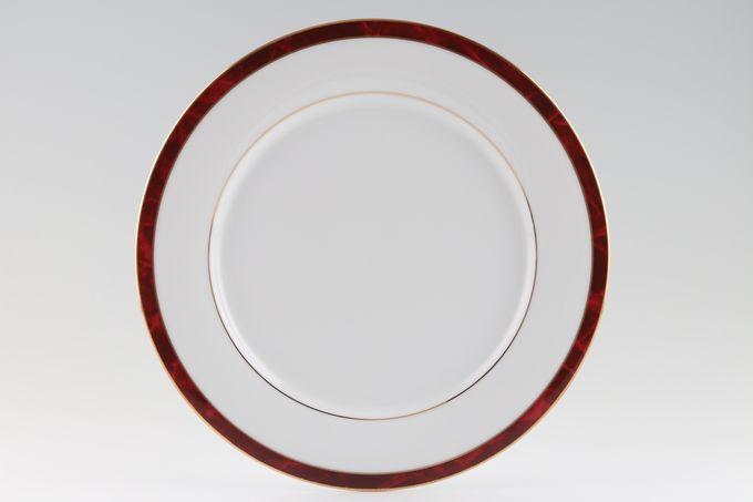 "Noritake Marble Red Dinner Plate 10 1/2"""