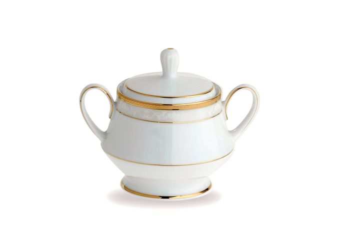 Noritake Hampshire Gold Sugar Bowl - Lidded (Tea)