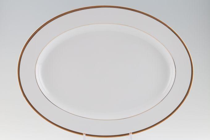Noritake Toorak Gold Oval Plate / Platter 41cm