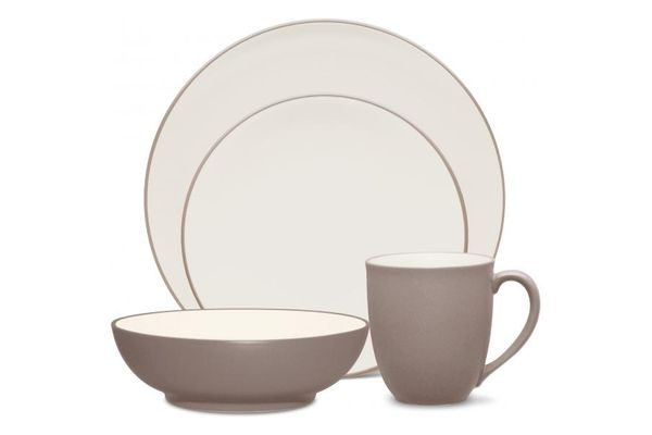 Noritake Colorwave Clay 4 Piece Set COUPE