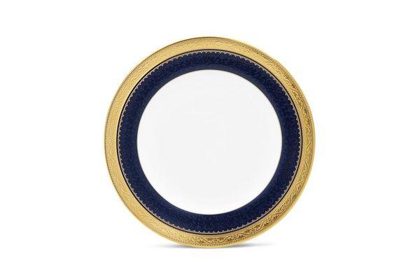 Noritake Odessa Cobalt Gold Tea Plate 16.7cm