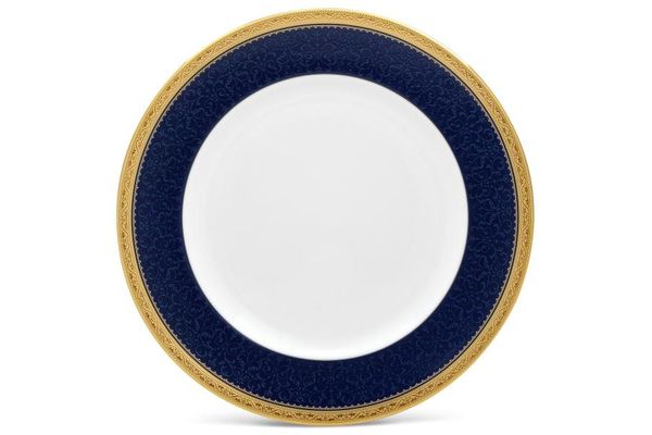 Noritake Odessa Cobalt Gold Dinner Plate 27cm