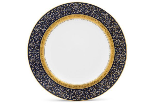 Noritake Odessa Cobalt Gold Accent Side Plate 23.4cm