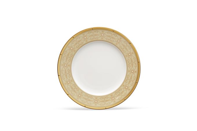 Noritake Rochelle Gold Accent Side Plate 23.4cm