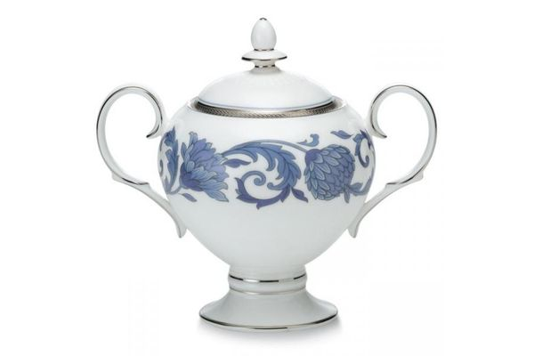 Noritake Sonnet in Blue Sugar Bowl - Lidded (Tea)