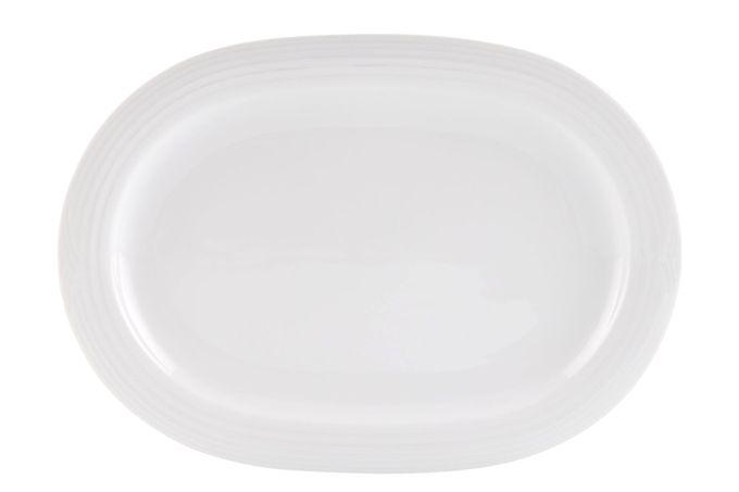 Noritake Arctic White Oval Plate / Platter 35.6cm
