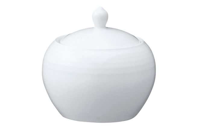 Noritake Arctic White Sugar Bowl - Lidded (Tea)