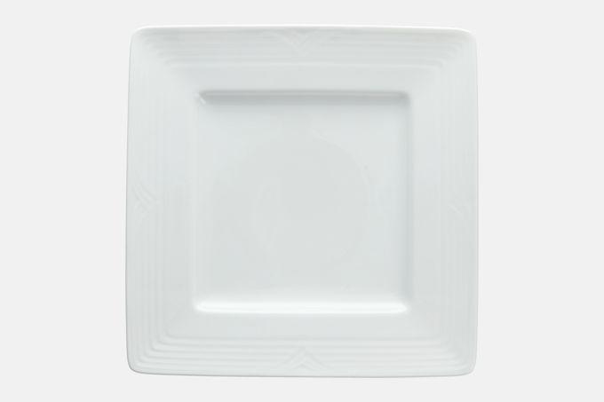 Noritake Arctic White Square Plate 26.7cm