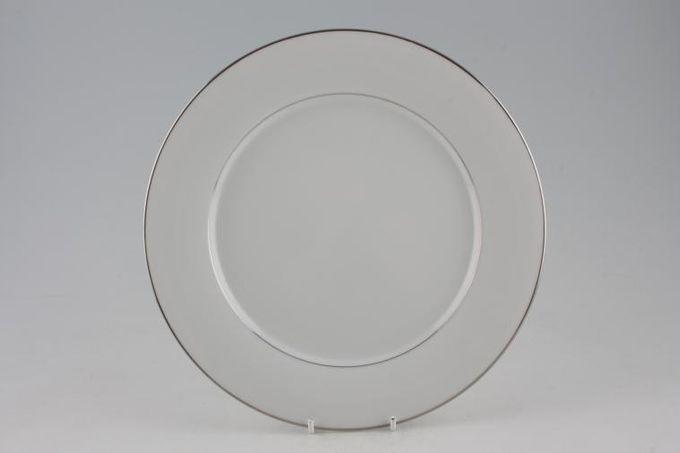 "Noritake Regency Silver Dinner Plate 10 1/2"""