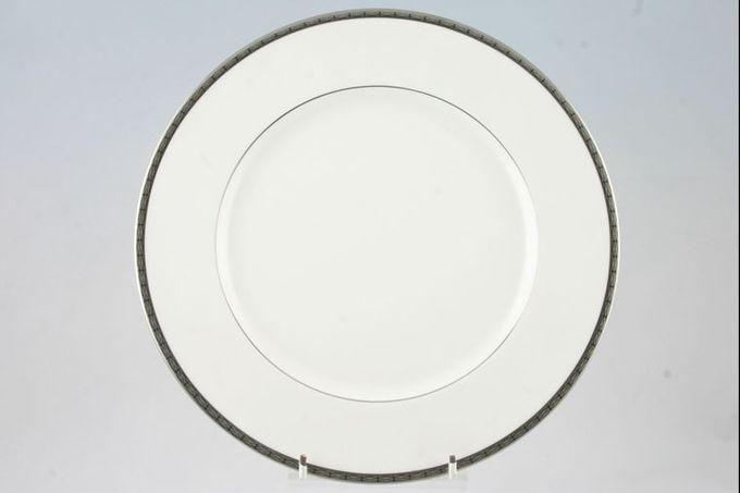 "Noritake Cascade Platinum Dinner Plate 10 7/8"""