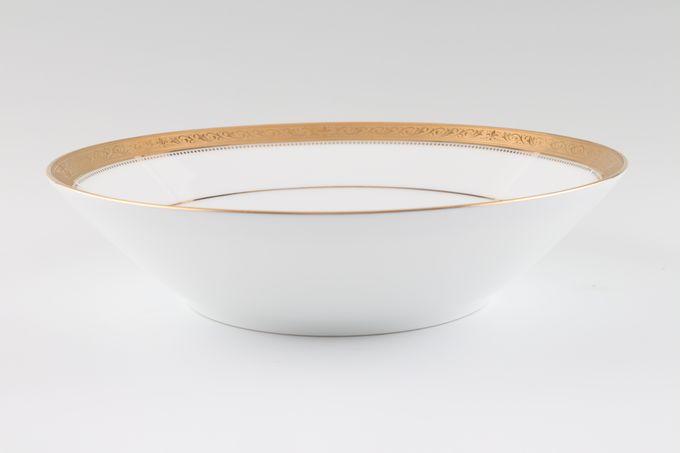 "Noritake Signature Gold Soup / Cereal Bowl 7 1/2"""