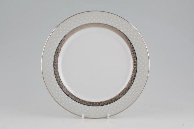 "Noritake Metropolitan Platinum Breakfast / Salad / Luncheon Plate Accent 9"""