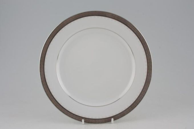 "Noritake Metropolitan Platinum Starter / Salad / Dessert Plate 8 1/4"""