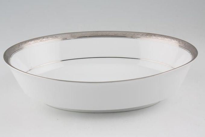 Noritake Signature Platinum Vegetable Dish (Open) 9 3/4""
