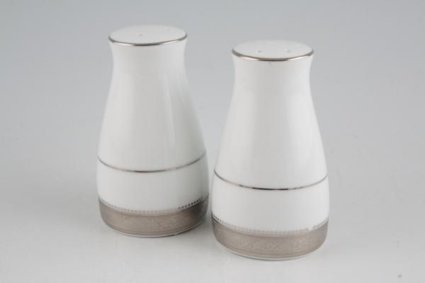 Noritake Signature Platinum Salt and Pepper Set