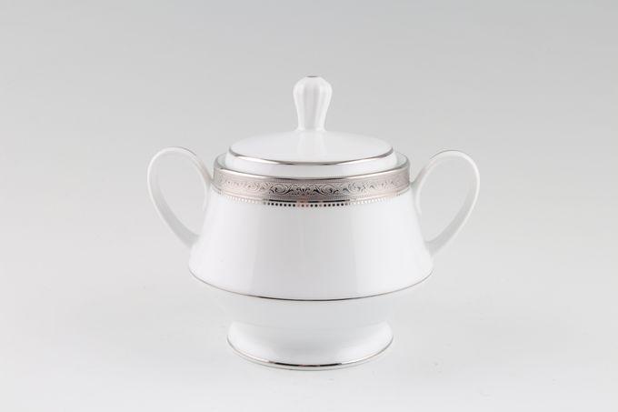 Noritake Signature Platinum Sugar Bowl - Lidded (Tea)