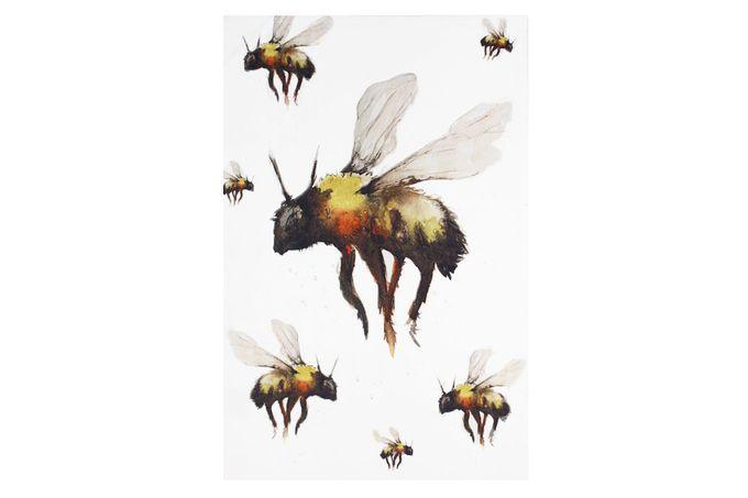 Meg Hawkins The Home Collection Tea Towel Bee Design