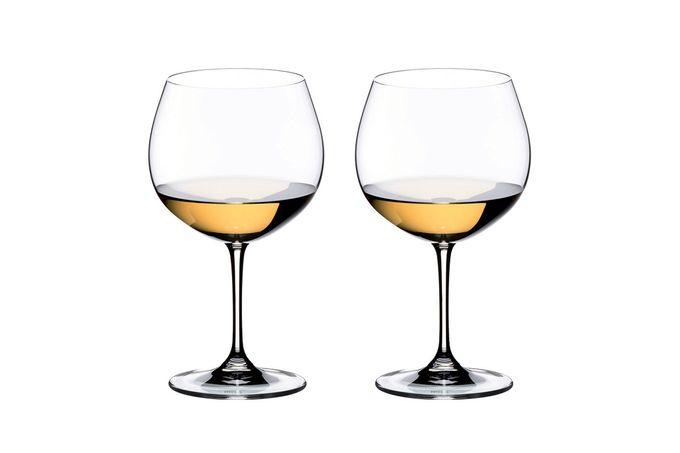 Riedel Vinum Pair of White Wine Glasses Oaked Chardonnay (Montrachet) 600ml