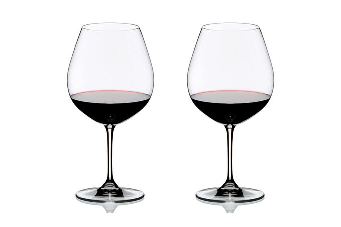 Riedel Vinum Pair of Red Wine Glasses Pinot Noir (Burgundy Red) 700ml
