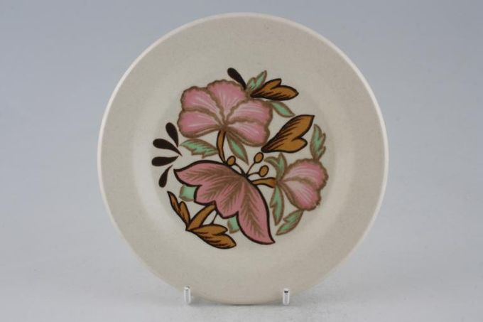 Palissy Lotus Blossom Tea / Side / Bread & Butter Plate 6 1/4""