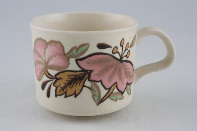 "Palissy Lotus Blossom Teacup 3 1/4 x 2 3/4"""