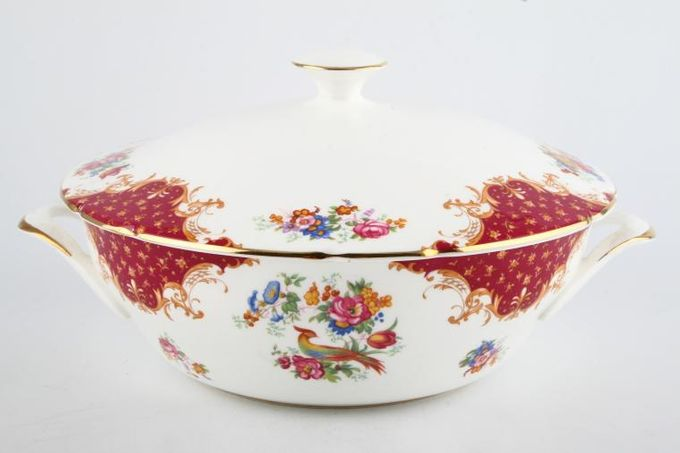 Paragon Rockingham - Red Vegetable Tureen with Lid