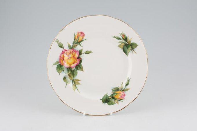 "Paragon Harry Wheatcroft Roses - Peace Starter / Salad / Dessert Plate 8"""