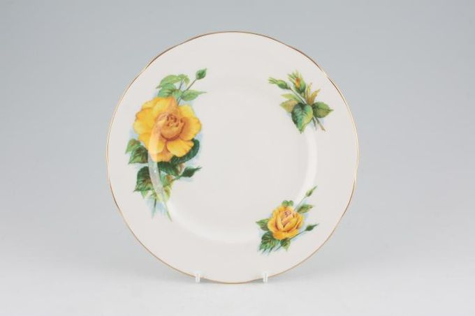 Paragon Harry Wheatcroft Roses - Mms Ch Sauvage Starter / Salad / Dessert Plate 8""