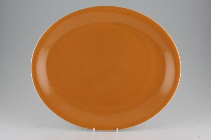 """Poole Desert Song Oval Plate / Platter 14"""""""