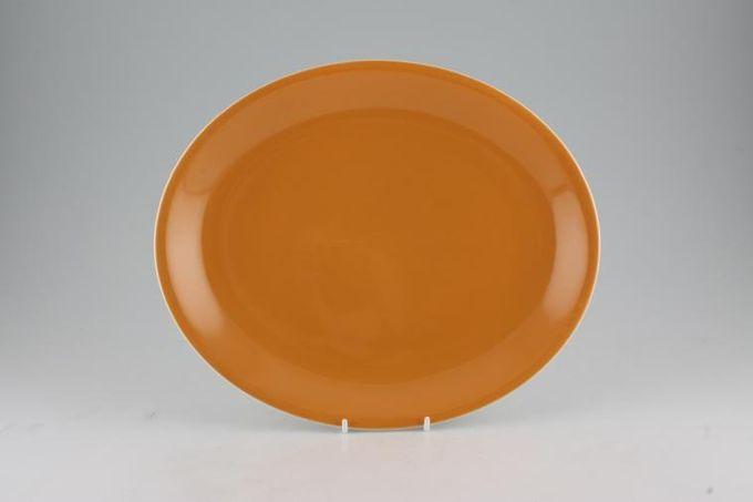 """Poole Desert Song Oval Plate / Platter 12"""""""