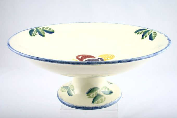 Poole Dorset Fruit Comport Footed - Combination 11""