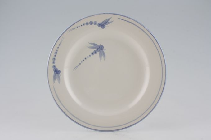 """Poole Dragonfly - Blue Breakfast / Salad / Luncheon Plate 9 1/4"""""""