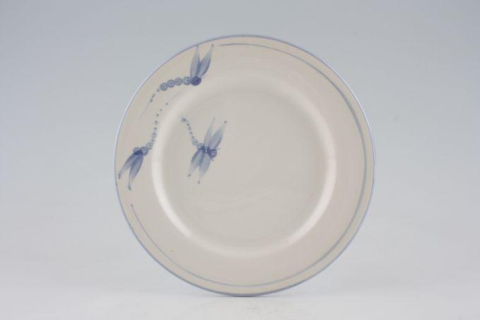 """Poole Dragonfly - Blue Starter / Salad / Dessert Plate 7 1/2"""""""