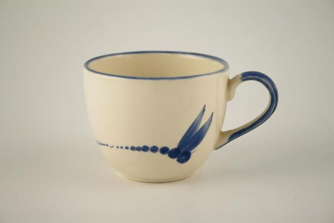 Poole Dragonfly - Blue Teacup 3 1/4 x 2 5/8""